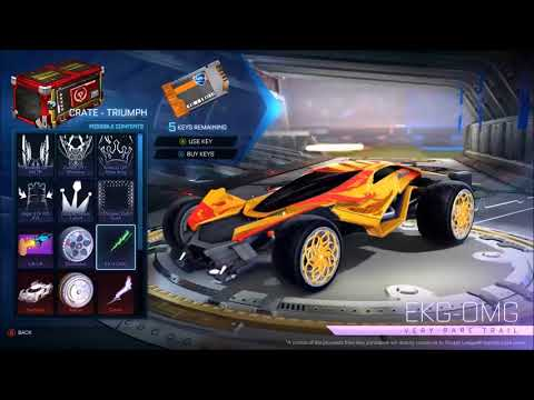 Rocket League Triumph Crate Contents & All New Items Showcase