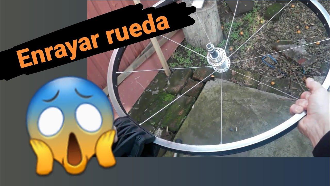 👍¿Como ARMAR una RUEDA  de BICICLETA de 36 rayos? / RADIAR a 3 cruces // ENRAYAR rueda 😜