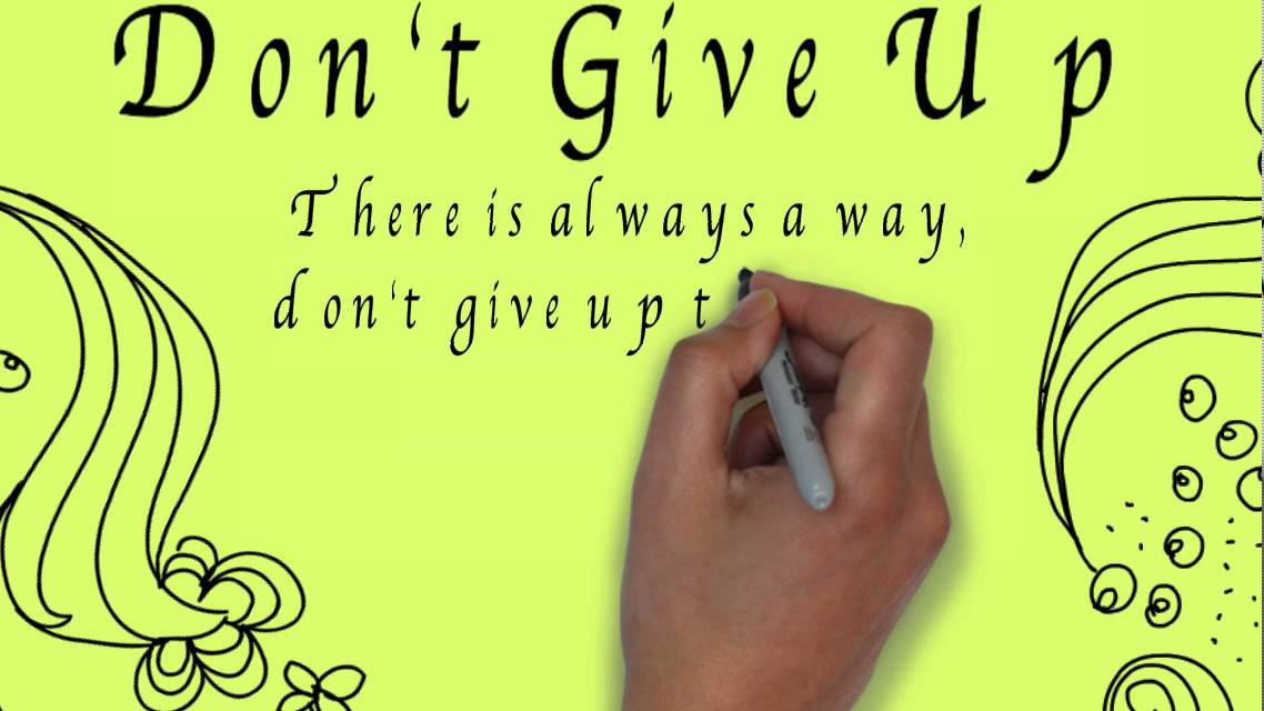 Dont Give Up Motivation Poetry Animation Youtube