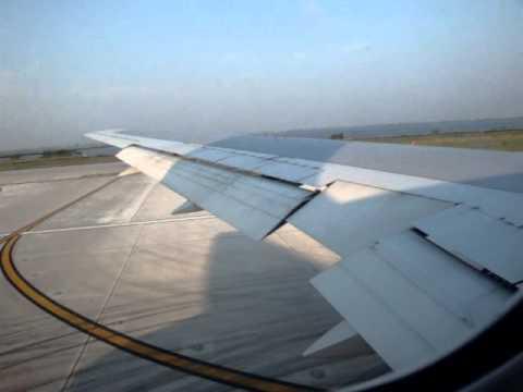 American Airlines Flight 1609: JFK - MIA (Boeing 767) Takeoff!!! 8/6/10