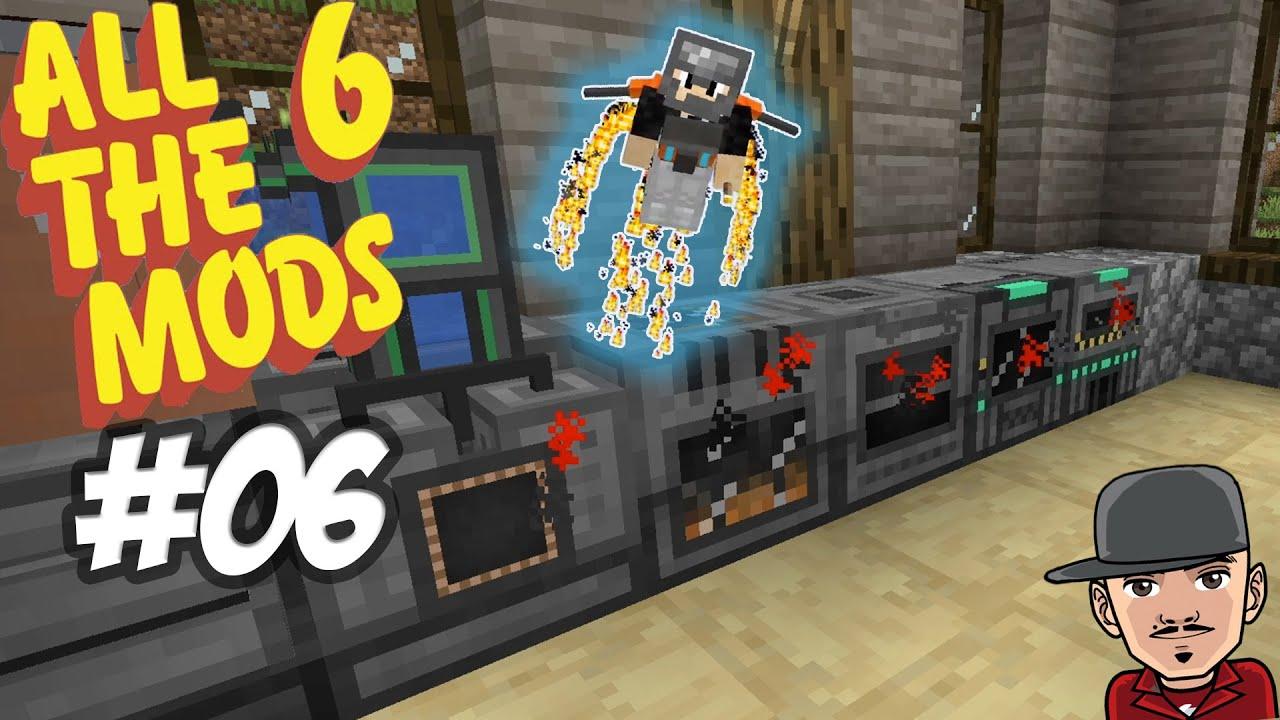 Download Erzverdreifachung und ich kann fliegen   Minecraft ALL THE MODS 6 #06