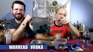 Homemade Warhead Vodka, Infusion How-to