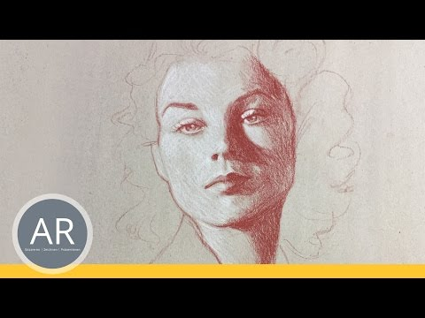 Schnell-Portraits. Portraits Einfach Zeichnen Lernen. Mappenvorbereitungskurs Kunst
