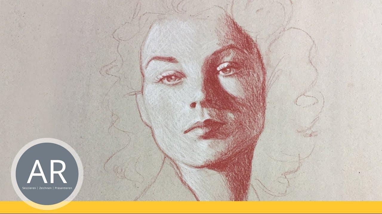 Schnell Portraits Portraits Einfach Zeichnen Lernen