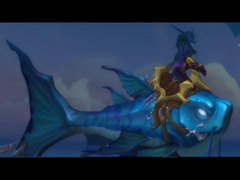 How To Get The New Legion WoW Fishing Mount - Brinedeep Bottom-feeder