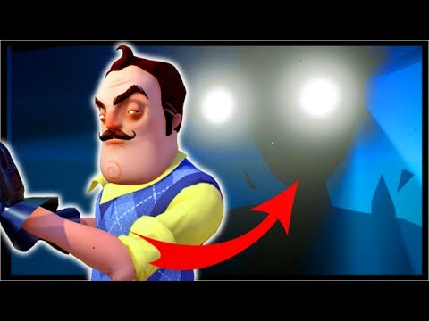 'FINAL BOSS' GIANT SHADOW IN RED DOOR NIGHTMARE | Hello Neighbor Alpha 4