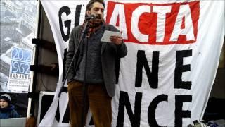 Protest gegen ACTA