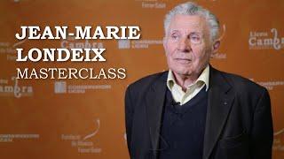 Masterclass amb Jean-Marie Londeix - Cicle Liceu Cambra