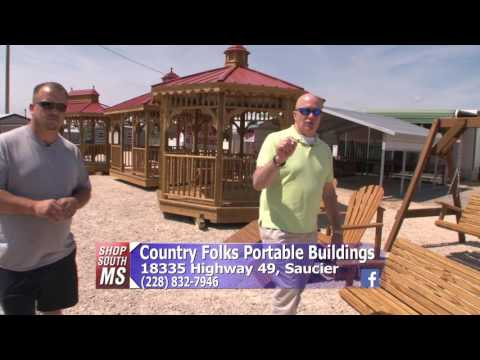 Shop South Mississippi - Country Folks Portable Buildings