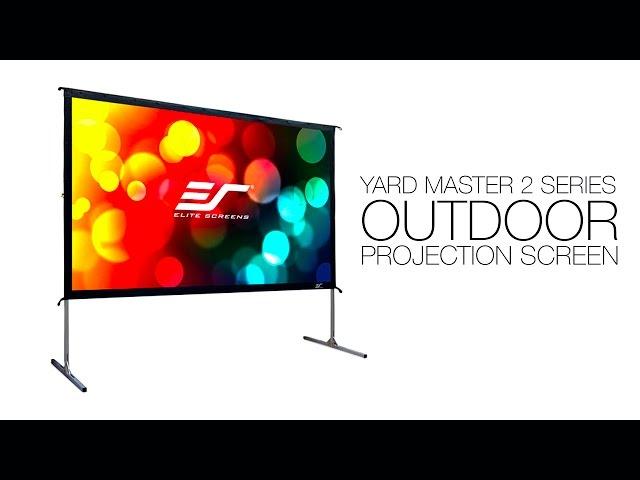 Elite Screens Yard Master 2 Outdoor Projection Screen