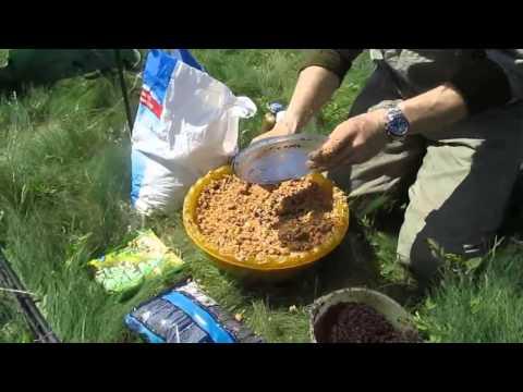 бюджетная прикормка для рыбы своими руками видео