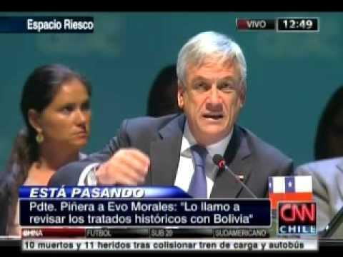 Respuesta del Presidente Piñera a Evo Morales