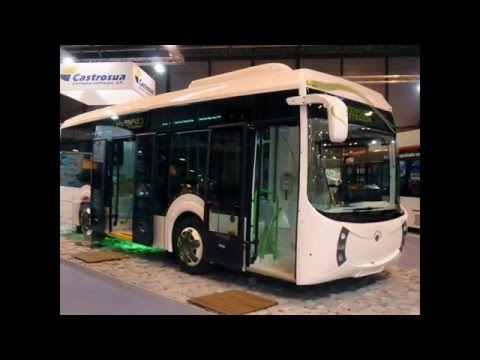 Hybrid Cars Reviews: Hybrid City Bus Castrosua Tempus