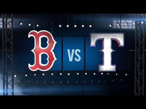 5/29/15: Hamilton's big game leads Rangers to win