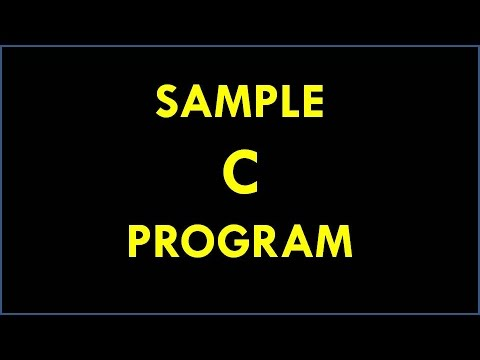 C Program For Welcome - How to Print the Welcome Message In C