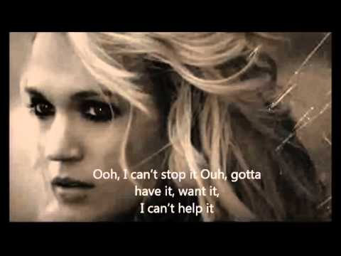 Carrie Underwood - Leave Love Alone With Lyrics