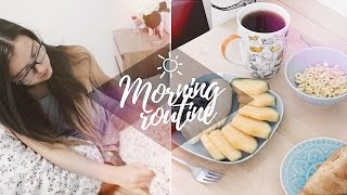 MY MORNING ROUTINE ☼ ANASTAZIA