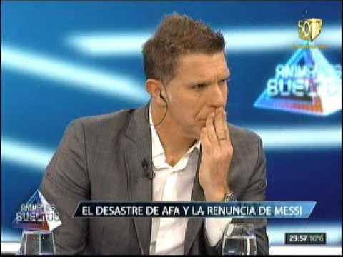 Alejandro Fantino: Hay jugadores que se cagaron