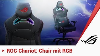 Gaming Chair mit RGB! Der ROG Chariot