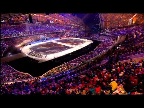 Церемония открытия XXII Зимних Олимпийских Игр 2014 в Сочи Первый HD