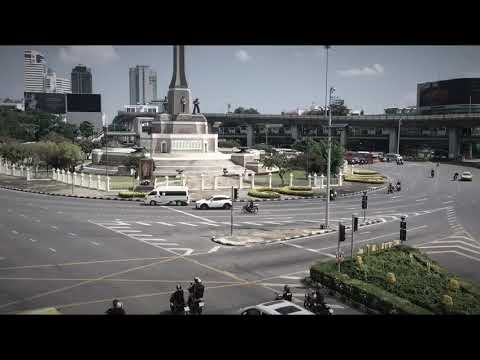 Thai King's Funeral in Bangkok with Art