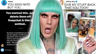 "Jeffree Star EXPOSES ex boyfriend for this, his ""ex boyfriend"" responds..."