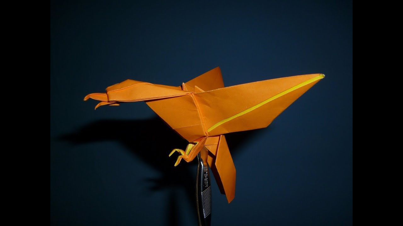 origami eagle instructions joseph wu youtube