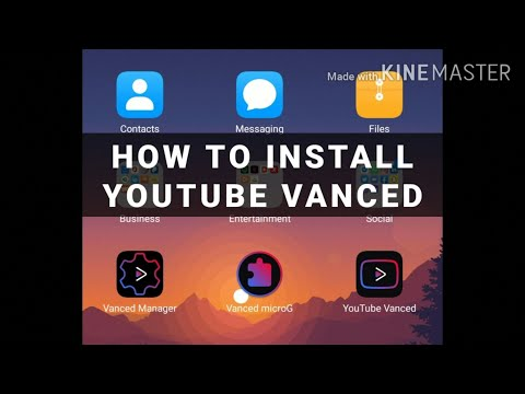 How to Install YouTube (Vanced) in Huawei Matepad T8/ Pro and any Huawei Phones