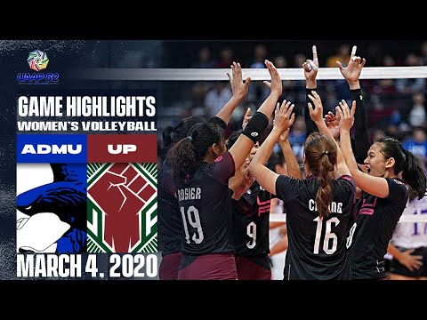 ADMU Vs. UP - March 4, 2020  | Game Highlights | UAAP 82 WV