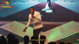 TIMI DAKOLO PERFORMS GREAT NATION AT THE NIGERIAN SPORTS AWARD 2016