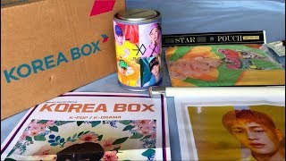 ♡Unboxing Kpop Subscription Box by KOREA BOX March 2019 Edition♡
