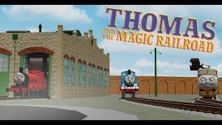 Thomas, James, and Diesel 10 / Thomas and the Magic Railroad / Roblox Clip Remake