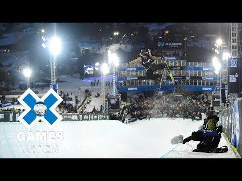 Maddie Bowman wins Women's Ski SuperPipe gold | X Games Aspen 2018