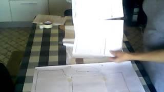Мастер-класс. Цельнокроенная рубашка. 1. Раскрой. https://ishchenkova.nethouse.ru/