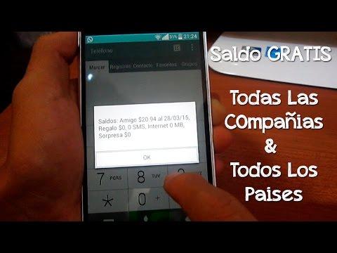 Saldo GRATIS para cualquier compañía y país (2017) - CesarGBTutoriales