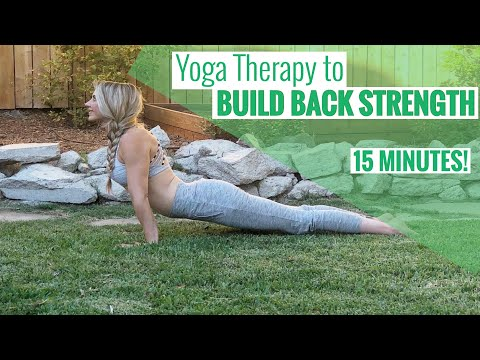 Simple Yoga Poses to Stretch and Strengthen Your Back | ROOT Yoga Therapy with Jasmine