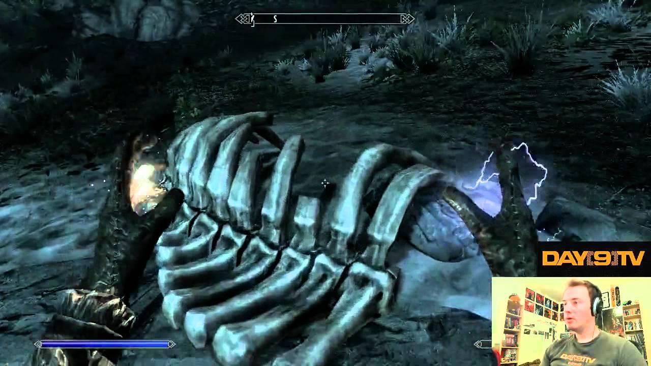 Day9 plays Elder Scrolls V: Skyrim - Part 4