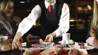 Posh Sushi Happy Hour Menu