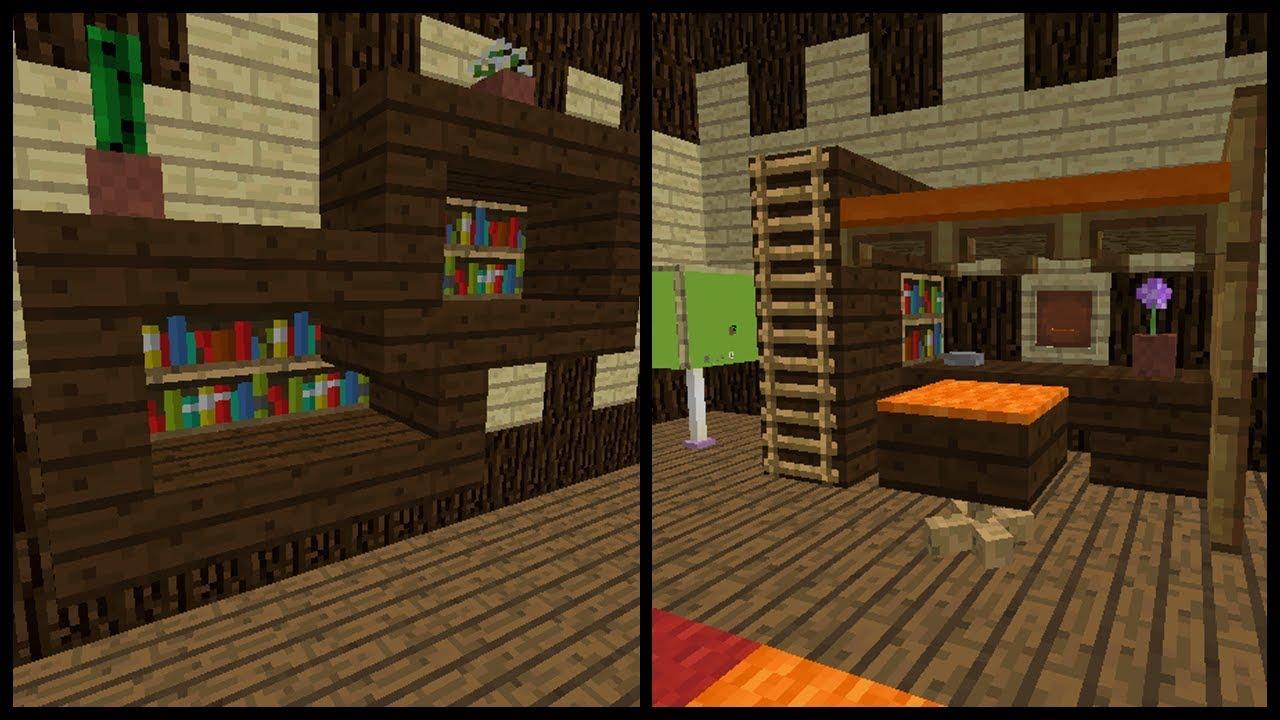Camera Da Letto Minecraft minecraft: come arredare una cameretta