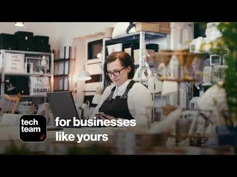 TechTeam: Whole Office IT Support to Keep Your Business Connected & Protected   Verizon