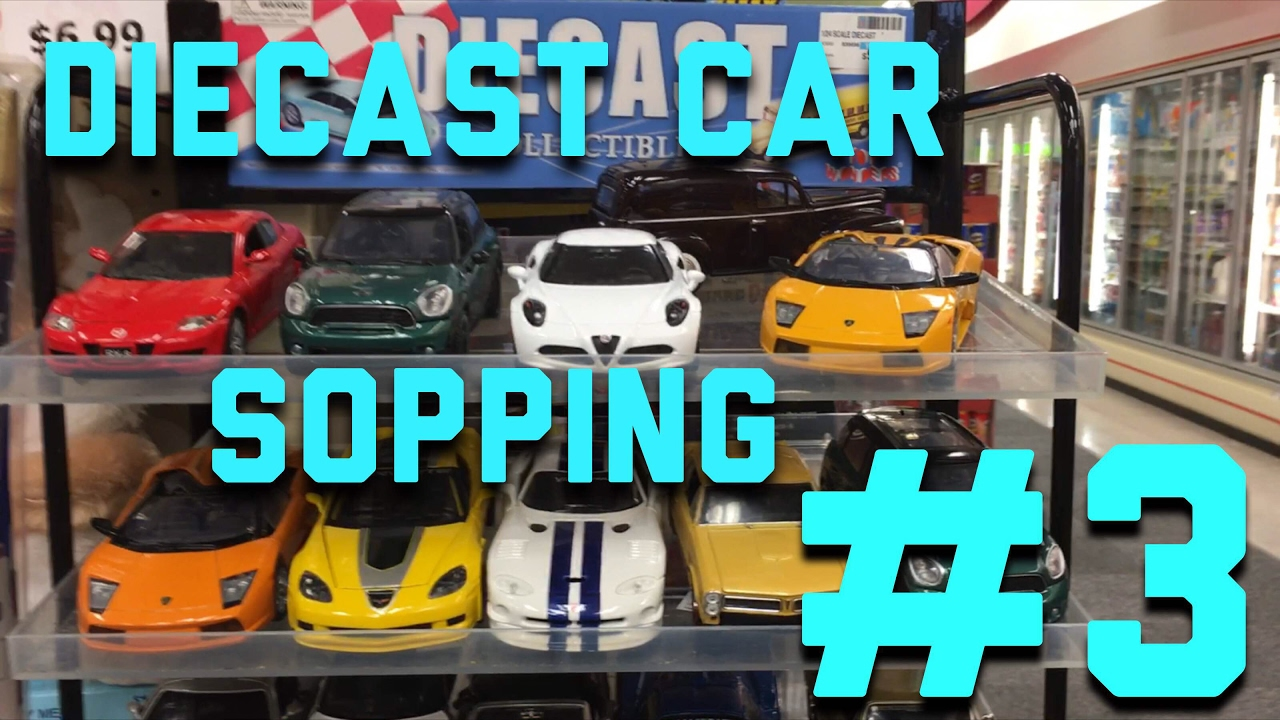1 24 scale diecast car shopping at cvs  3