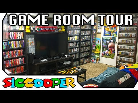 MASSIVE VIDEO GAME ROOM TOUR 2017 ( 80+ SYSTEMS & 3,600+ GAMES!) | SicCooper