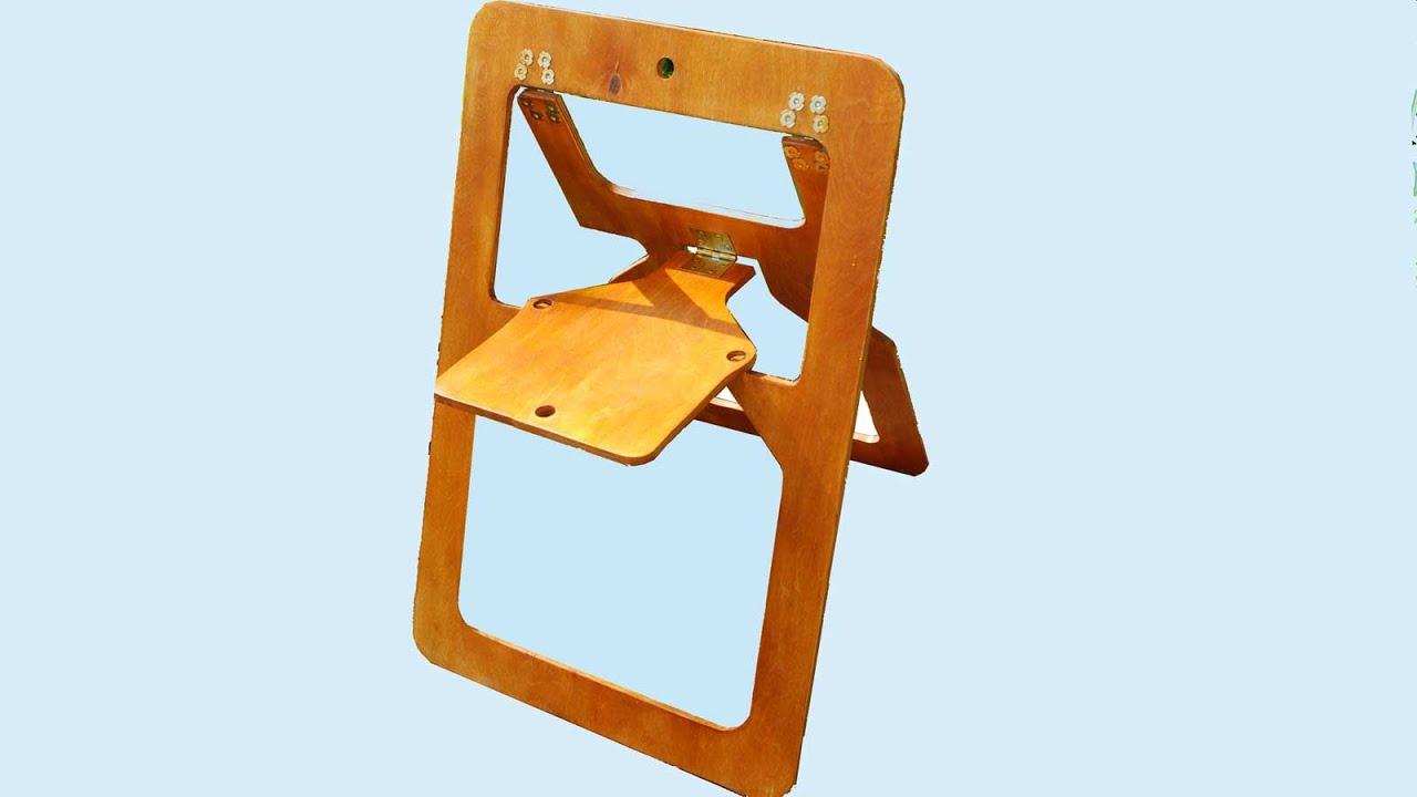 Homemade Folding Kids Chair  sc 1 st  YouTube & Homemade Folding Kids Chair - YouTube