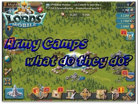 Lords Mobile: How To Use Army Camps