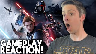 Star Wars Jedi: Fallen Order Gameplay Demo Reaction!