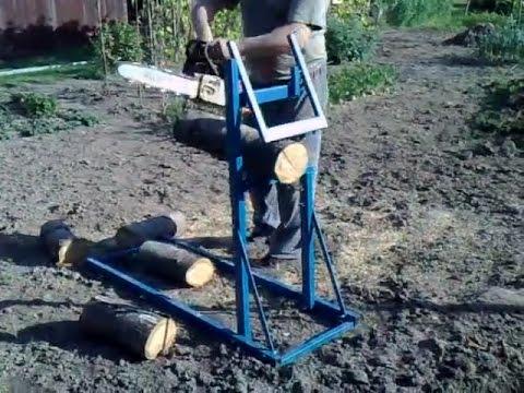 Станок для дров схема