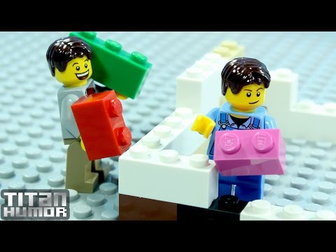 Lego Building Fail