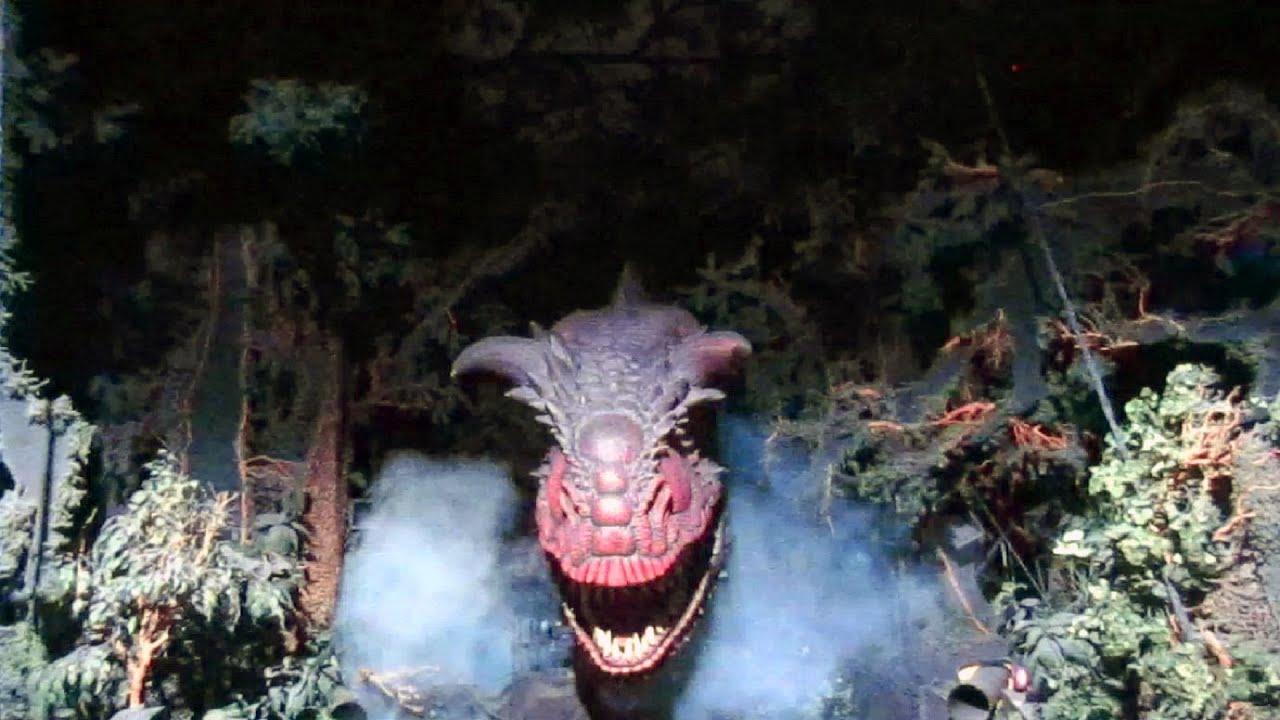 Dinosaur front seat on ride hd pov disney s animal kingdom youtube