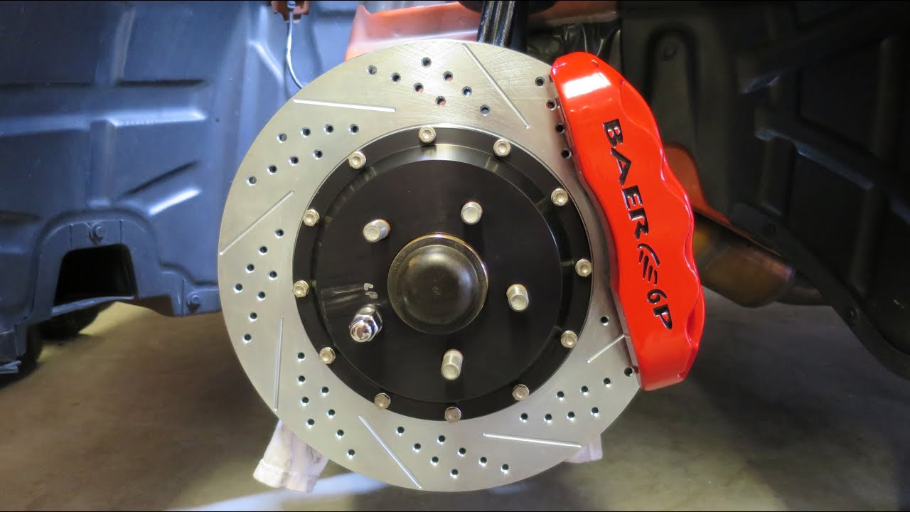 Dodge Challenger Baer Brake Upgrade Youtube