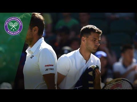 Stan Wawrinka vs Grigor Dimitrov Match Highlights | Wimbledon 2018